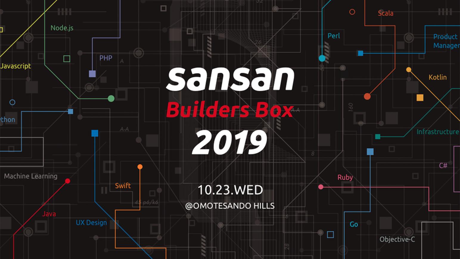 非エンジニア、非デザイナーの私が「Sansan Builders Box 2019」で学んだ5つのポイントのアイキャッチ